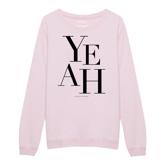 Big Yeah Sweater Pink - Oh Yeah! GmbH
