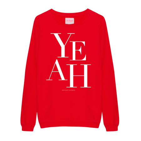Small Heart Sweater Red