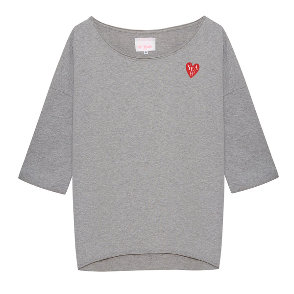 Heart 29 Sweater Grey - Oh Yeah! GmbH