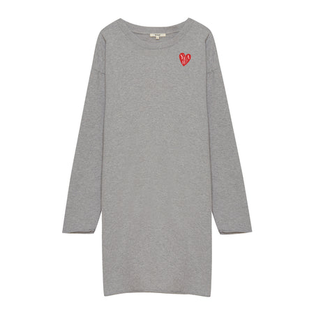 Heart 13 Shirt Grey