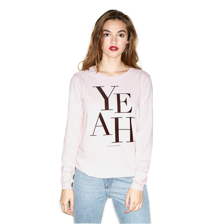 Classic Yeah Sweater Red