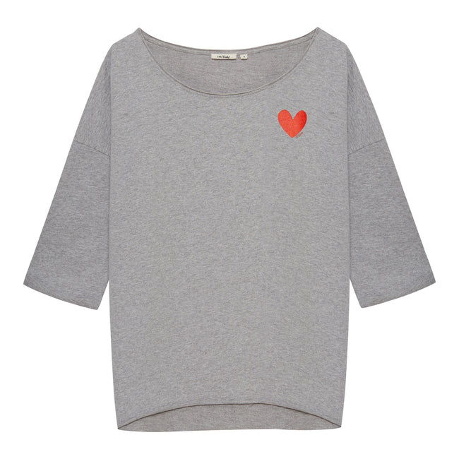 Small Heart Sweater Grey - Oh Yeah! GmbH