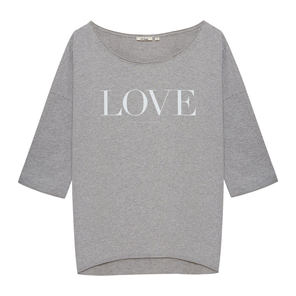 Love Sweater Grey - Oh Yeah! GmbH