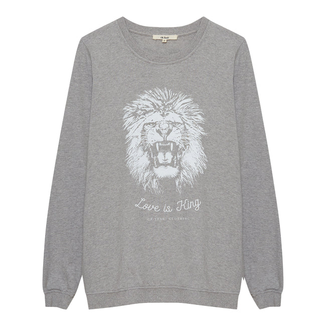 Lion Sweater Grey - Oh Yeah! GmbH