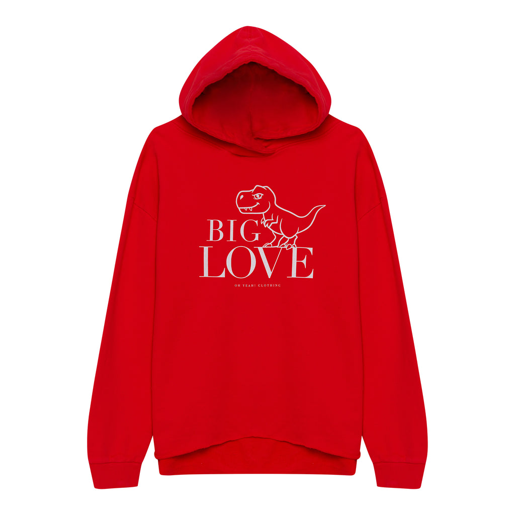 Dino Hoodie Red - Oh Yeah! GmbH