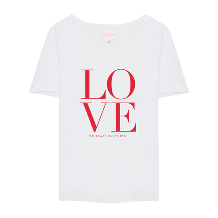 Love Shirt Vintage Black