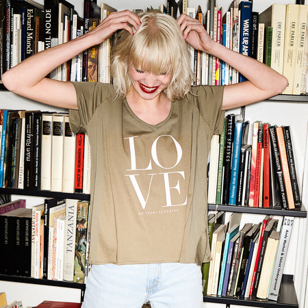 Love Shirt White