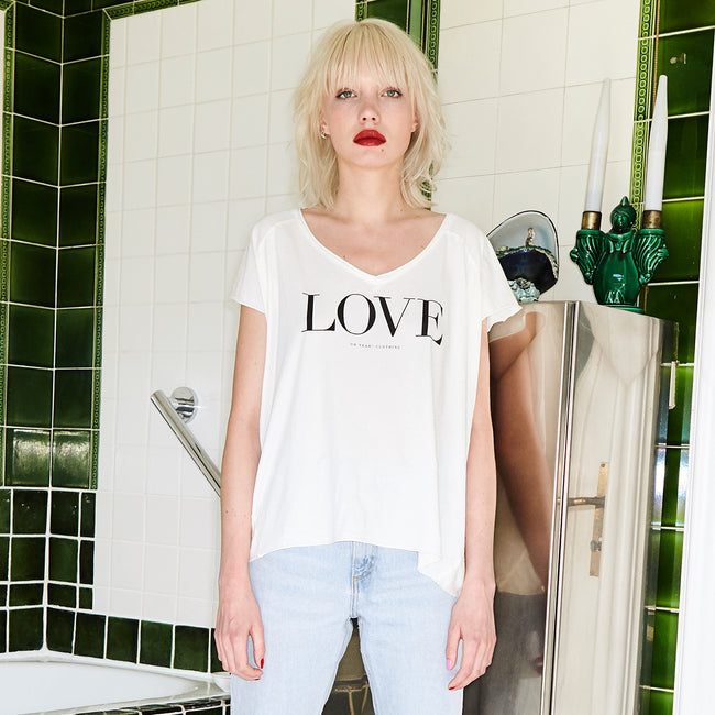 Love Shirt White - Oh Yeah! GmbH