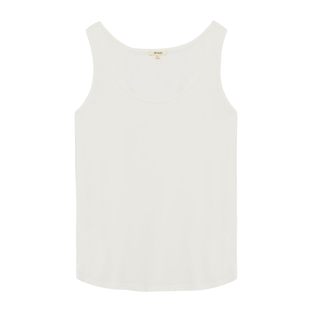Tank Top Off White - Oh Yeah! GmbH