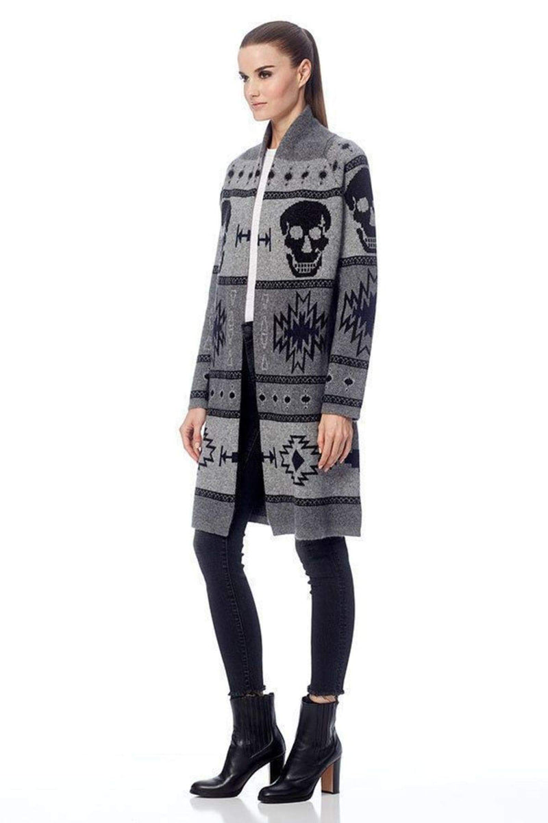 Willa Skull Cardigan