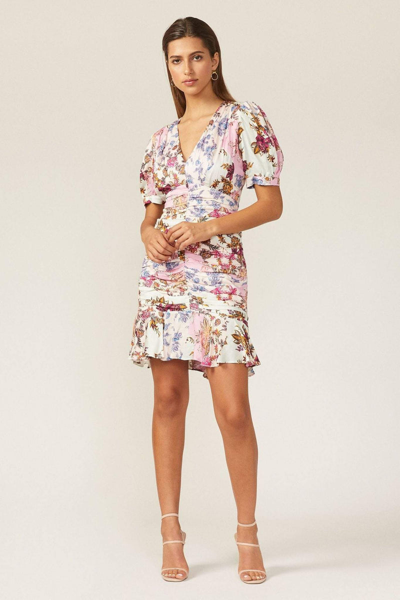 Adelyn Rae Dress Abbie Mini Dress Pink Mist