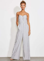 Ali & Jay Dress Game Day Jumpsuit Stripe