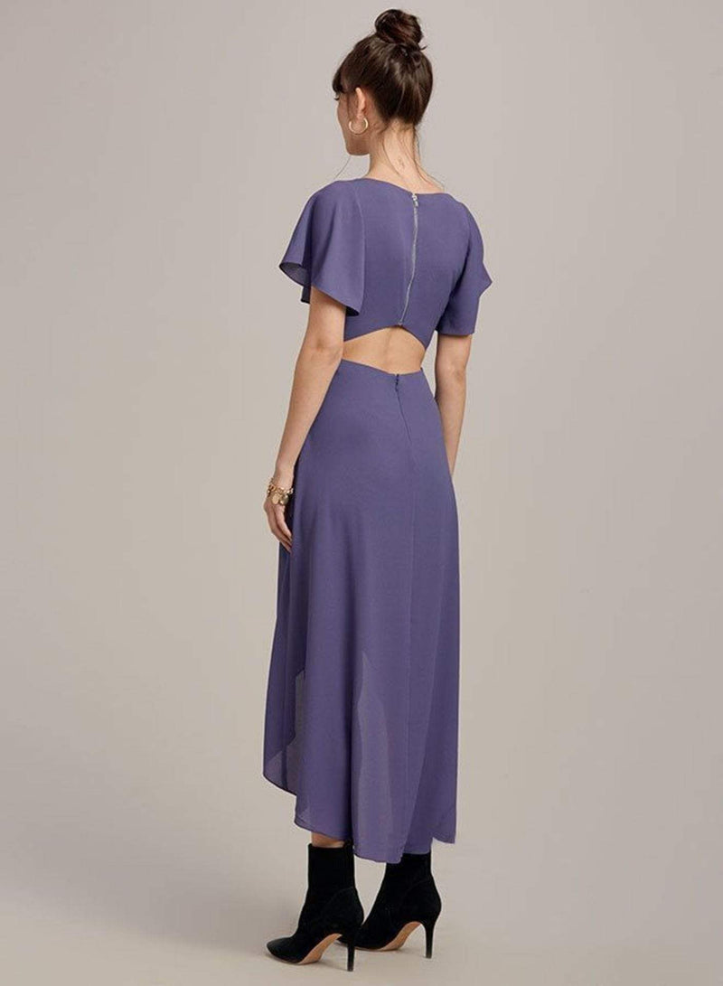 Ali & Jay Dress New Bohemian Maxi Dress Violet