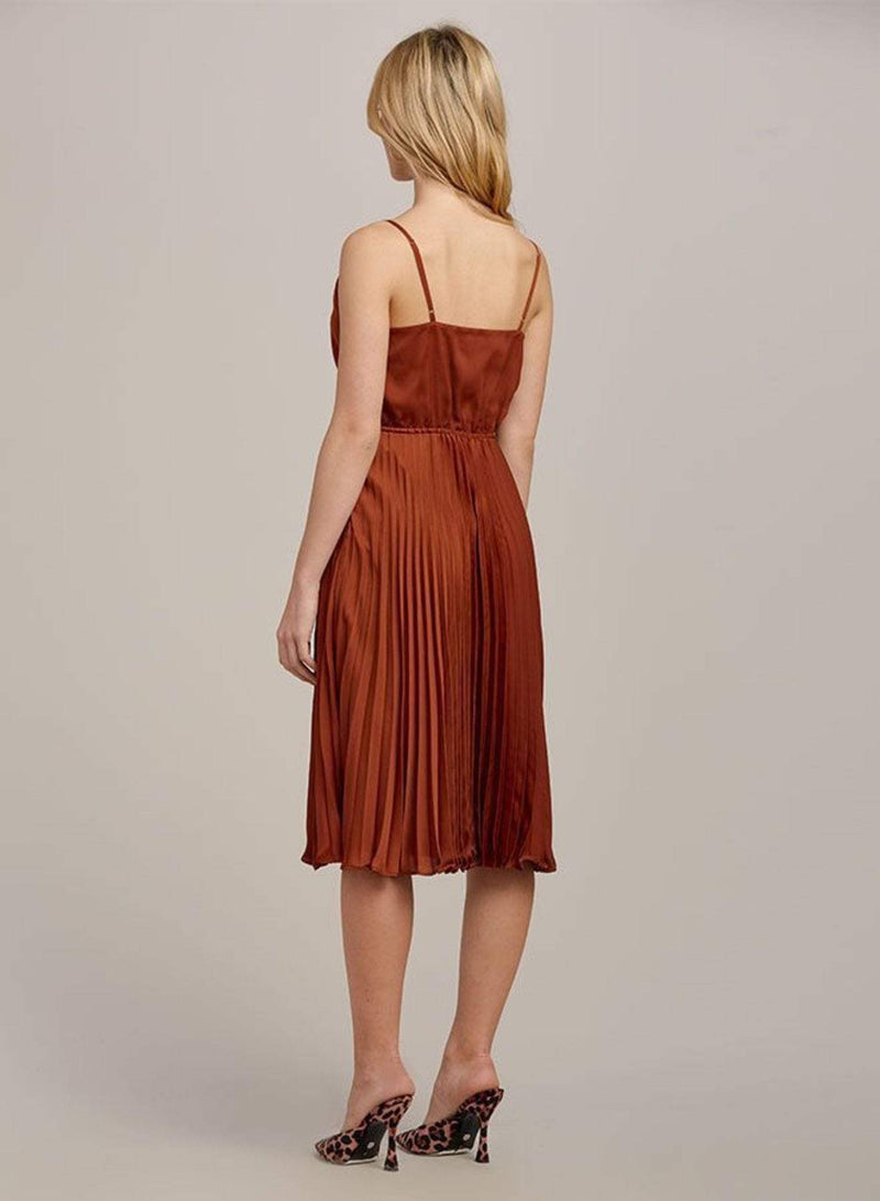 Ali & Jay Dress Pure Gold Midi Dress Copper