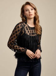 Ali & Jay Tops Blouse Emmy Top Black