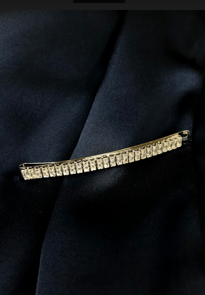 Diamond Mini Baguette Bobby Pin