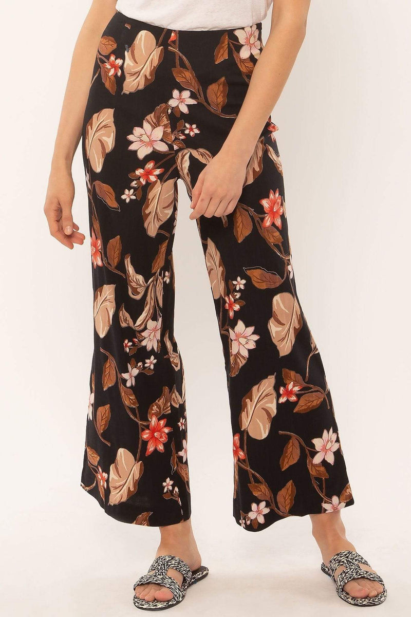 Amuse Pants Coco Floral Pant Black