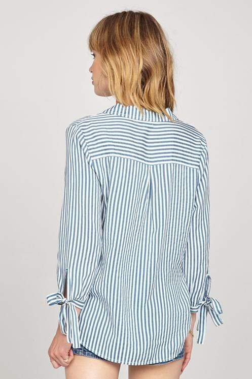 Amuse Tops Blouse Sail Away Woven Top