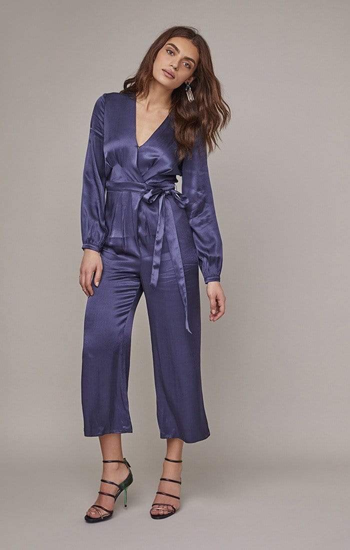 Malin Jumpsuit Indigo Blue