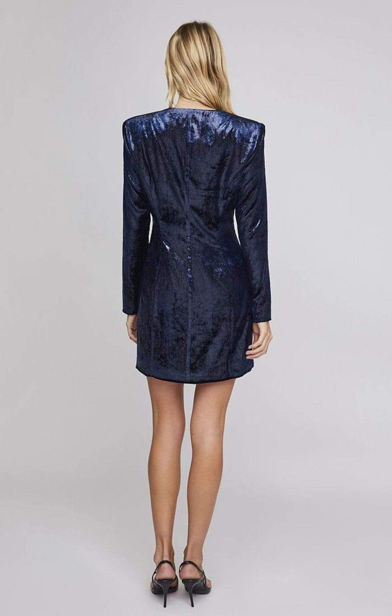 Zaire Dress Indigo