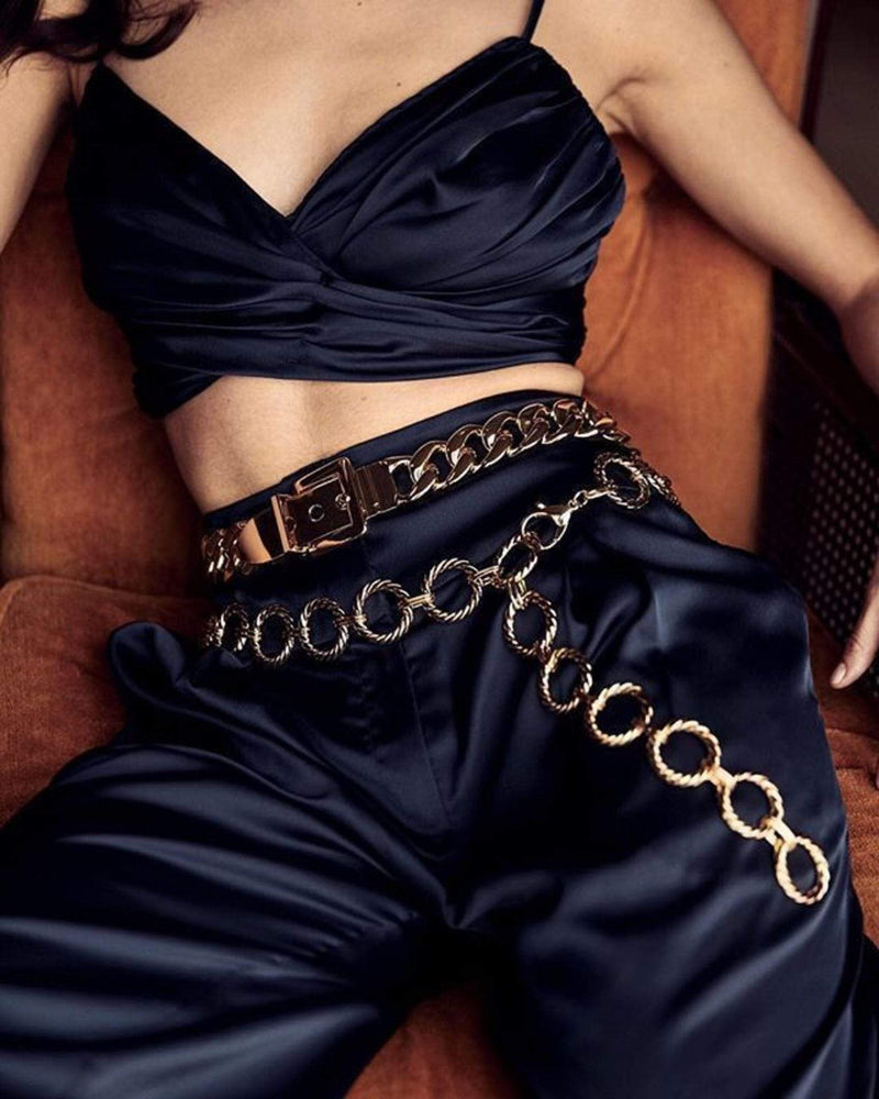 Nadia Chain Belt Gold
