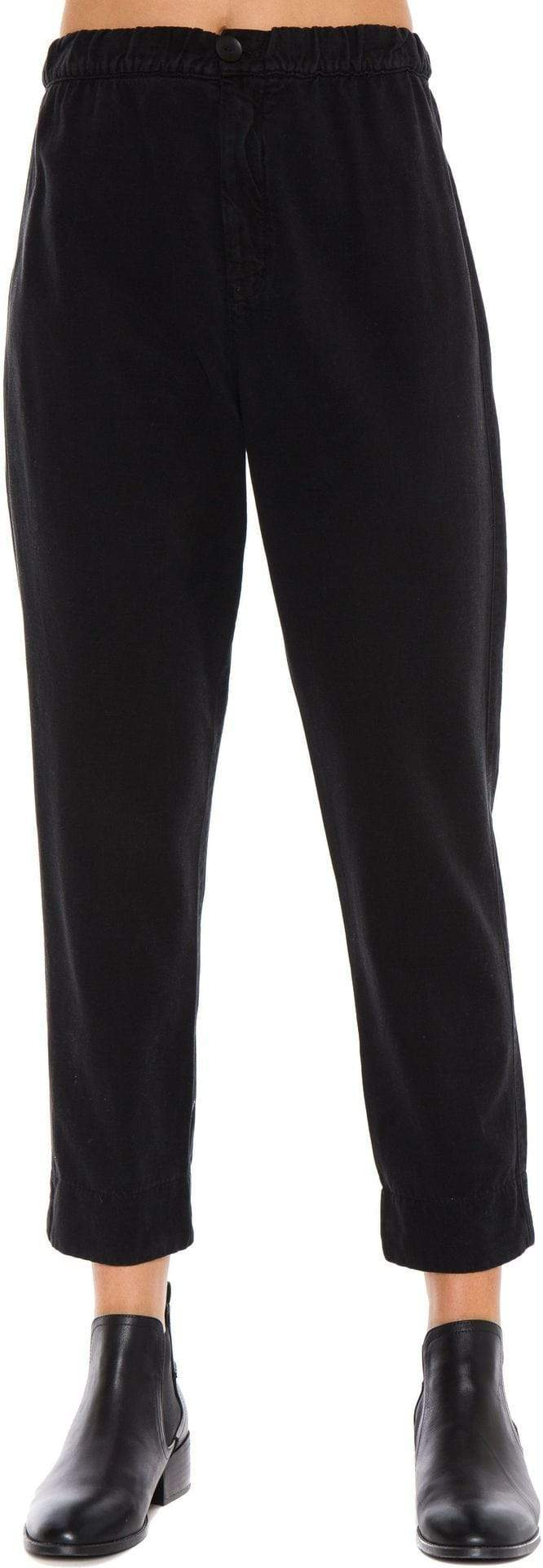 Tapered Notch Pant Black