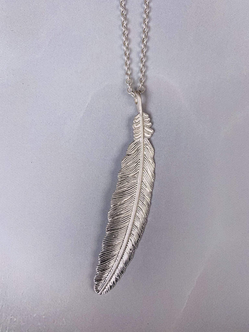 Daphne Feather Silver