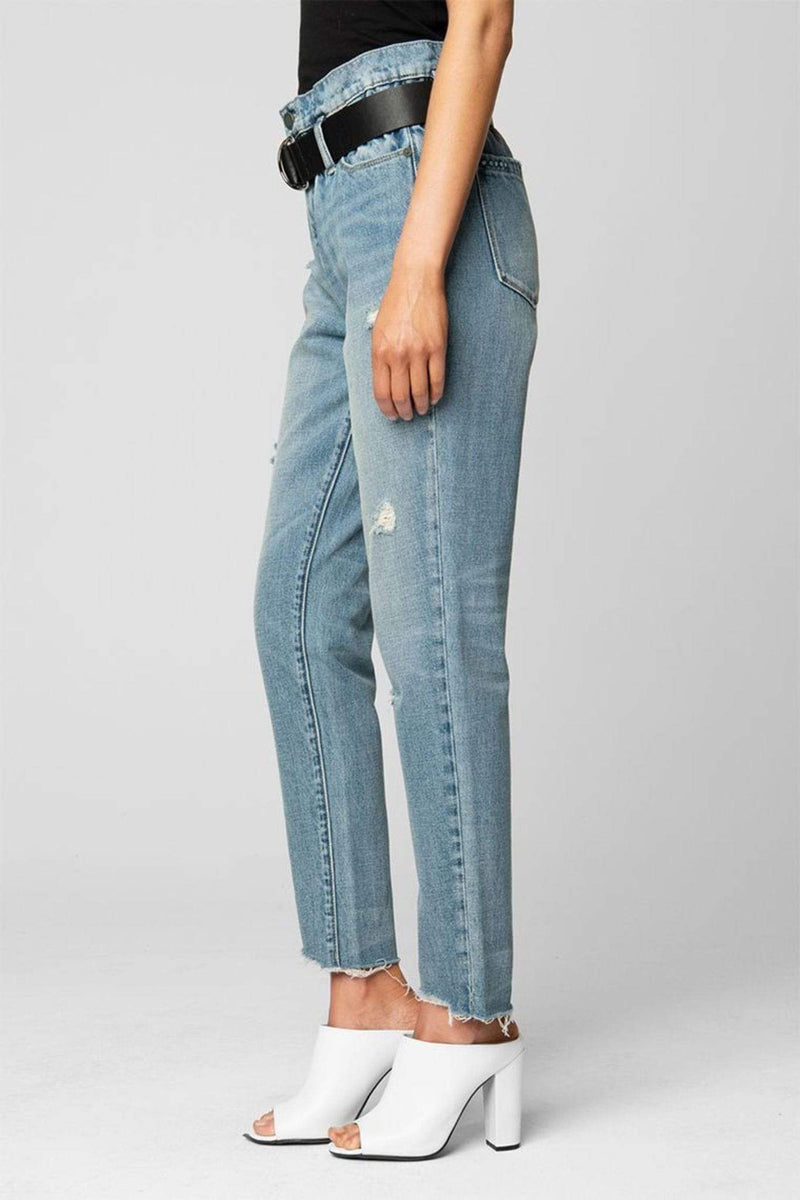 Risk Taker High Rise Jeans Light Wash