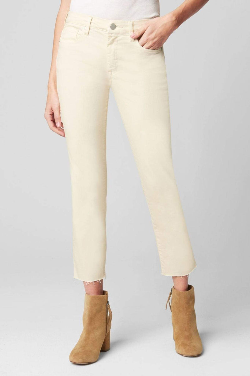 Blank NYC Denim Size 24 / Cream / 71OZ1794 Sourdough Mid Rise Skinny Cream