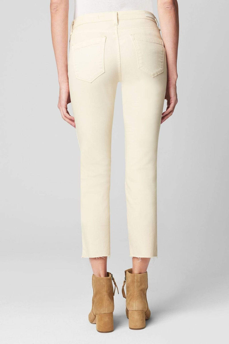 Blank NYC Denim Sourdough Mid Rise Skinny Cream