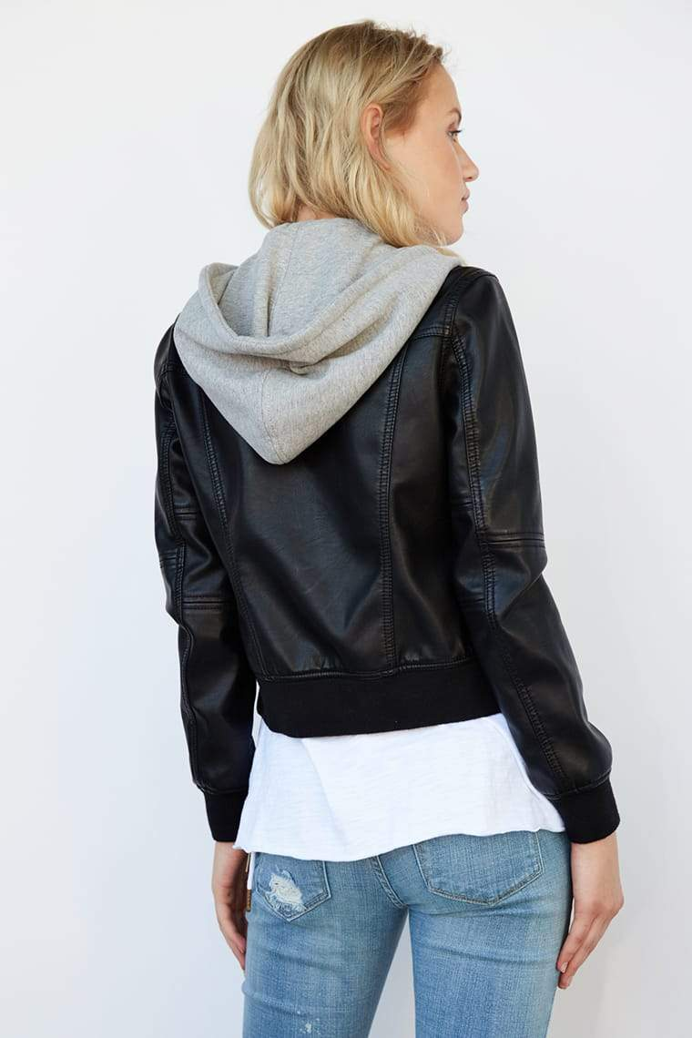 Blank NYC Jacket Adulting Flight Jacket