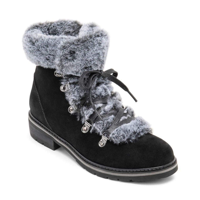 Veer Faux Fur Bootie Black