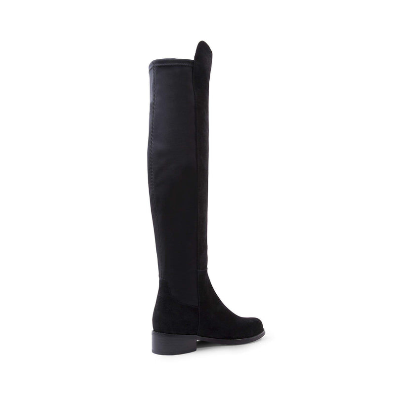 Blondo Shoes Velma Over the Knee Boot Black Suede