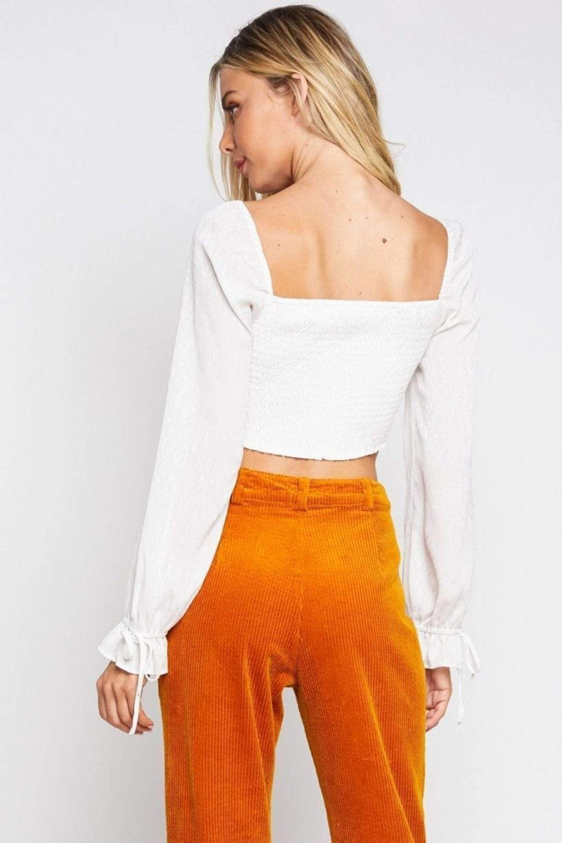 Renee Top Off White