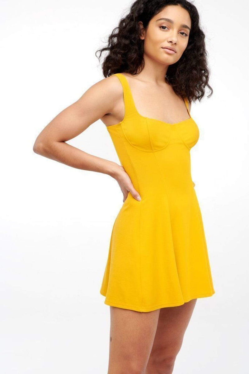 Capulet Dress X Small / Sungold / D488 Shiloh Skater Dress Sungold