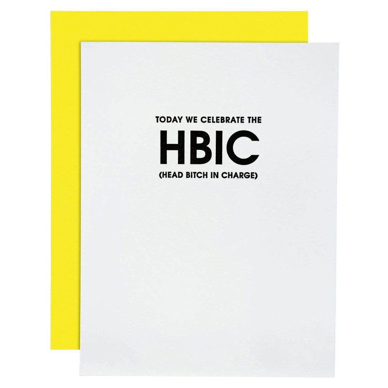Today We Celebrate The HBIC Card - Multi