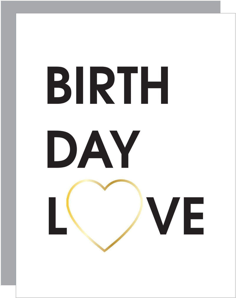 Birthday Love Paper Clip Card