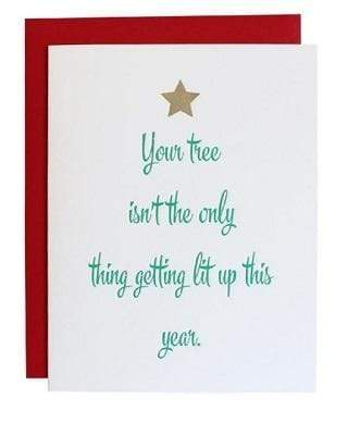 Chez Gagne Gift One Size / N/A / 1020 Tree LIT Up Card