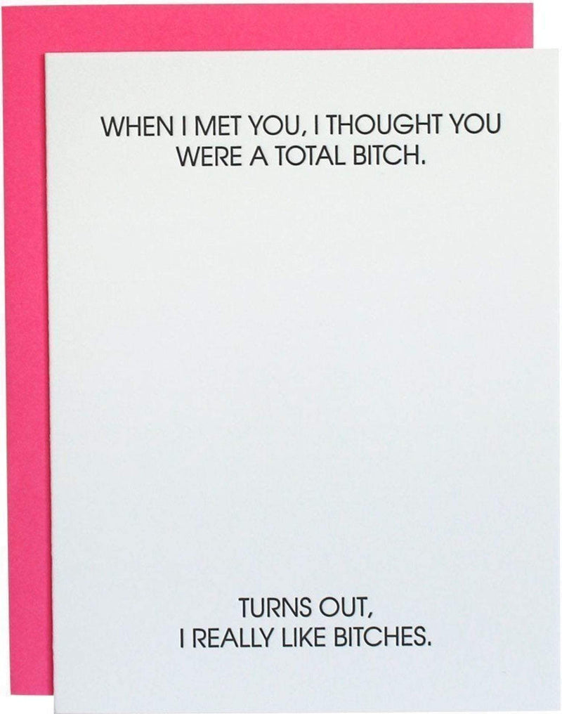 Total Bitch Card