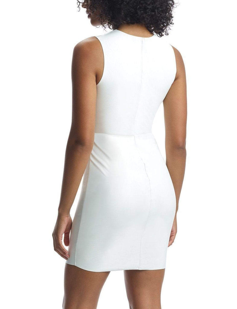 Commando Dress Faux Leather Signature Dress White