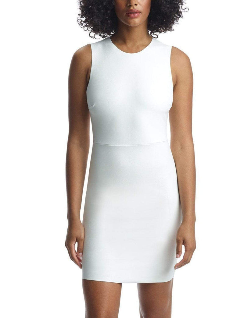 Commando Dress X Small / White / FLD02 Faux Leather Signature Dress White