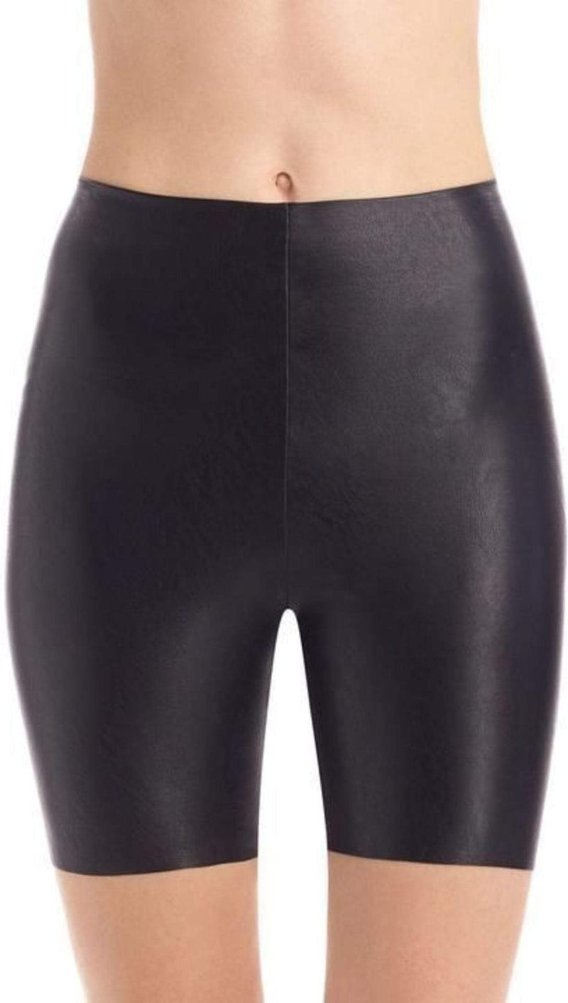Commando Shorts X Small / Black / SLG30 Perfect Faux Leather Bike Shorts