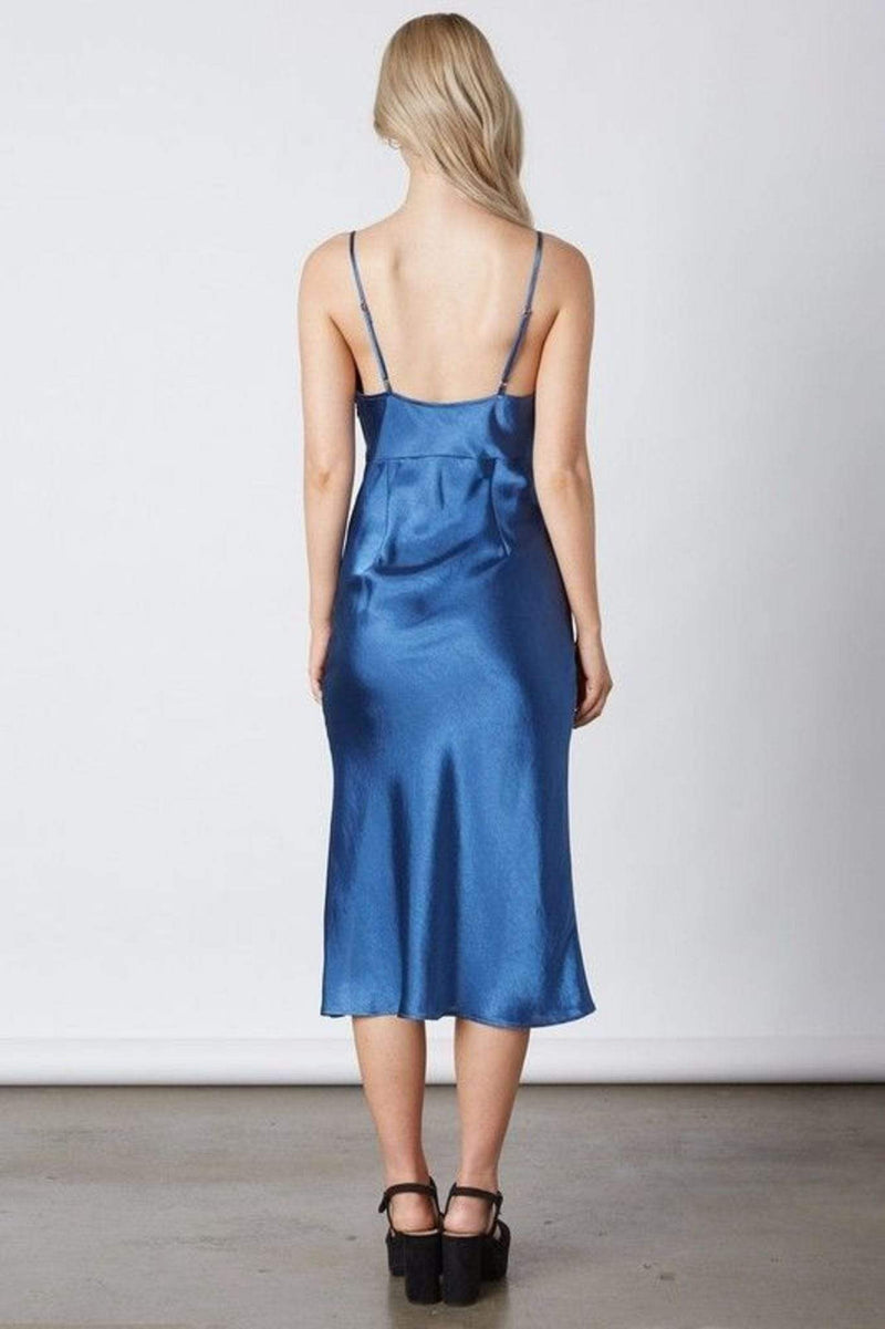 Finley Midi Dress Azure