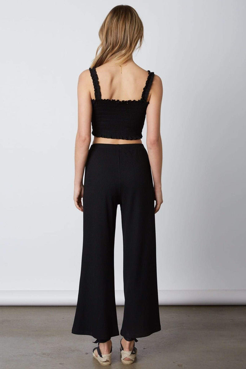 Devin Crop Top Black