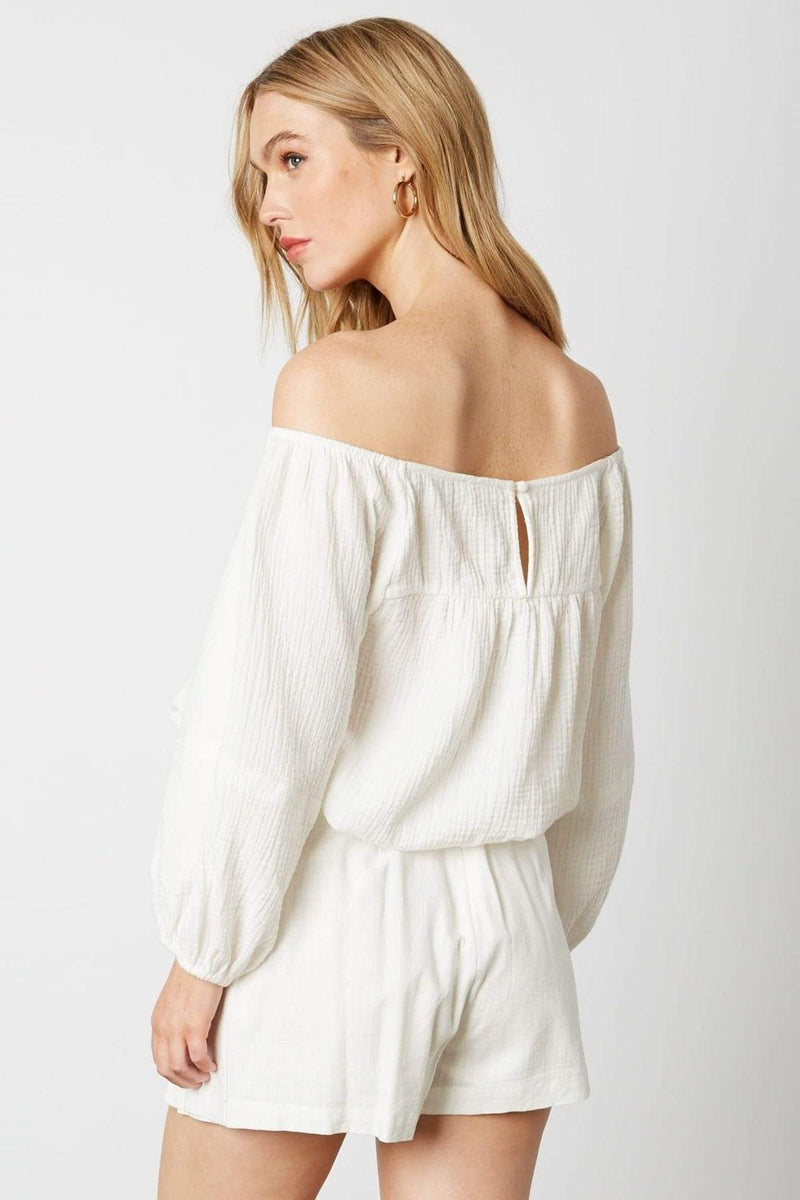 Wren Blouse White