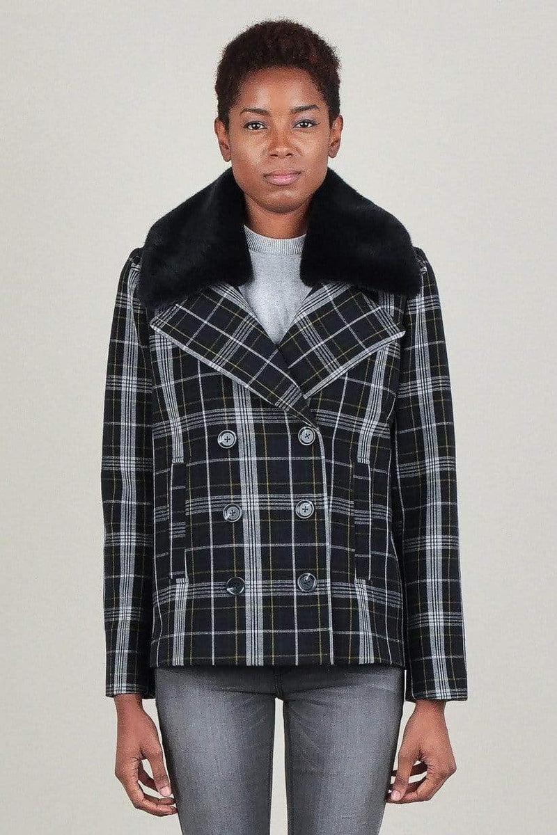 Octavia Plaid Jacket