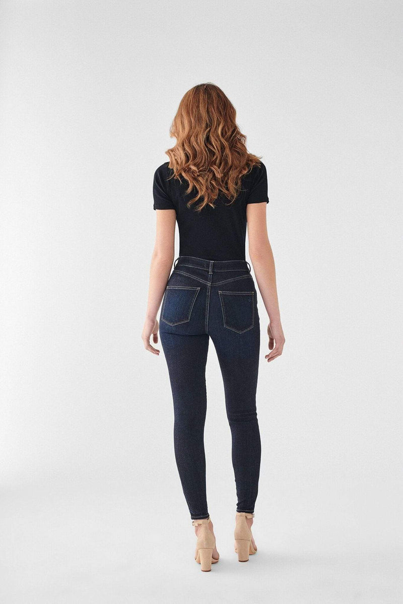 DL1961 Premium Denim Denim Farrow Ankle High Rise Skinny Blue