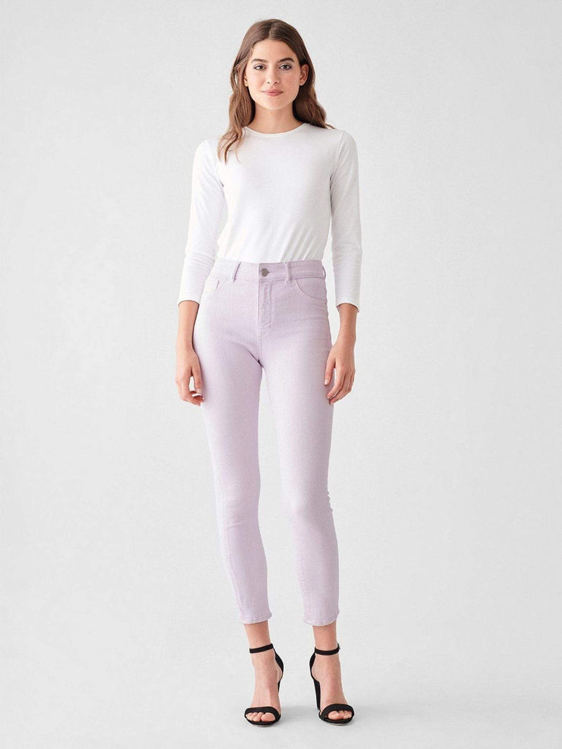 DL1961 Premium Denim Denim Farrow Ankle High Rise Skinny Viola