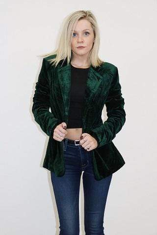 Do and Be Jacket Holiday Charm Blazer Dark Forest