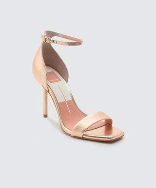 Halo Heel Rose Gold